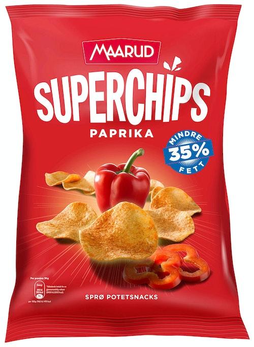 Maarud Superchips Paprika 135 g