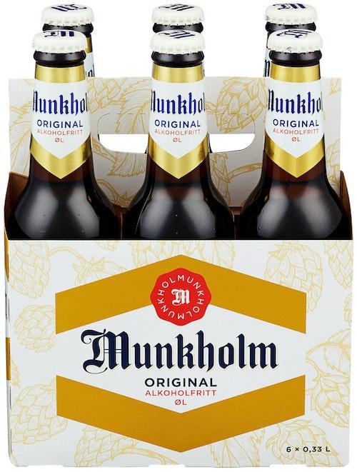 Ringnes Munkholm Glassflaske 6 x 0,33l, 1,98 l