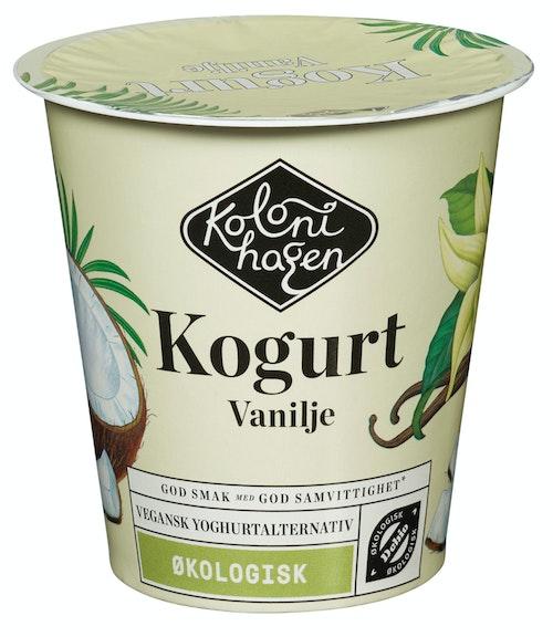Kolonihagen Kogurt Med Vanilje Økologisk, 125 g