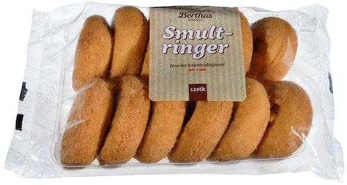 Bakeverket Smultringer 12 stk, 408 g