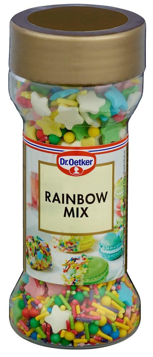 Dr. Oetker Rainbow Mix Strøssel 50 g