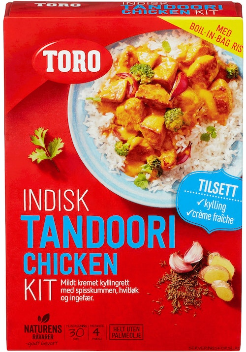 Toro Indisk Tandoori Chicken Kit, 290 g