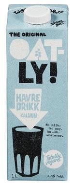 Oatly Havredrikk Kalsium 1 l