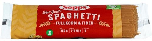 Sopps Spaghetti Rik På Fiber 450 g