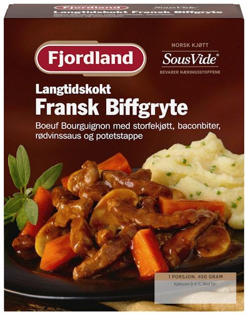 Fjordland Fransk Biffgryte 450 g