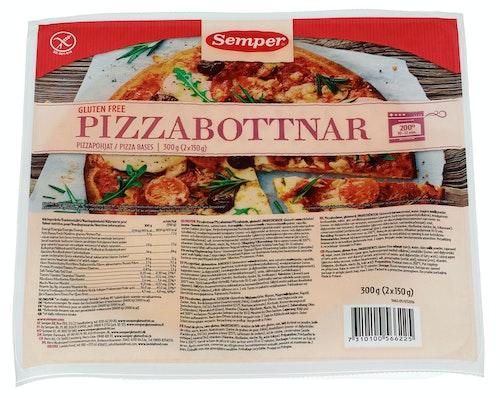 Semper Pizzabunn Glutenfri 300 g