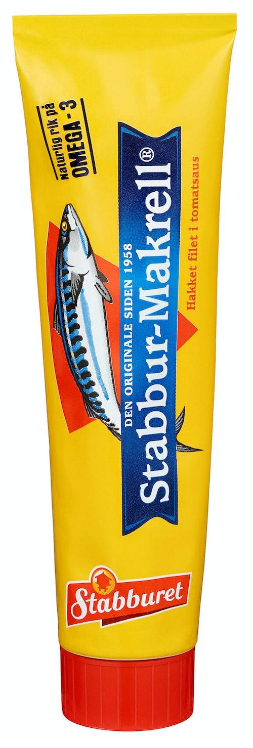 Stabburet Stabbur-makrell På Tube, 185 g