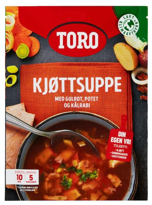 Toro Kjøttsuppe med Grønnsaker 81 g