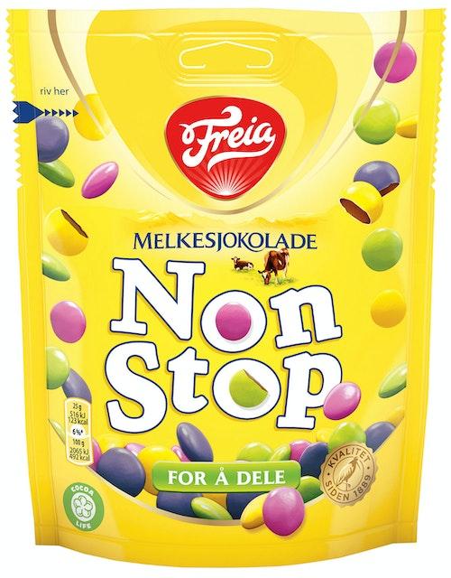 Freia Non Stop Melkesjokolade 180 g