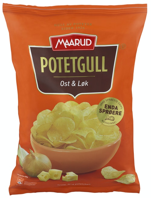 Maarud Potetgull Ost & Løk 200 g