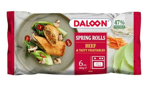 Daloon Springrolls med Oksekjøtt 600 g