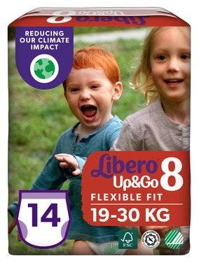 Libero Libero Up&Go Str.8 19-30kg, 14 stk