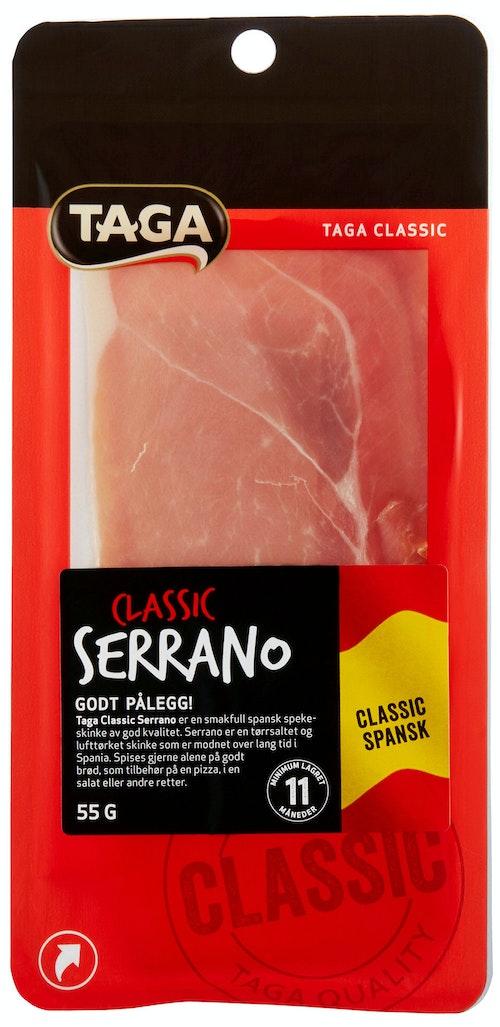 Taga Classic Serrano Skivet 55 g