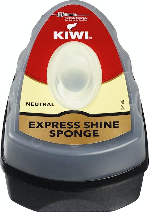 Kiwi Express Shine Sort Svamp 7 ml