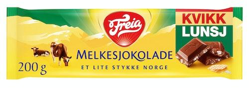 Freia Kvikk Lunsj Melkesjokolade 200 g