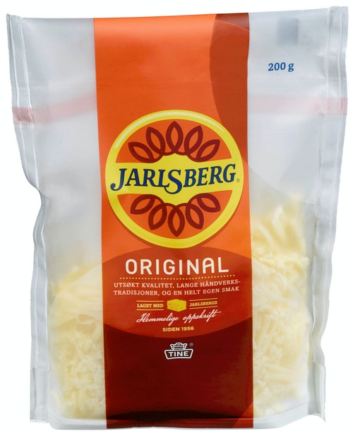 Tine Jarlsberg Revet 200 g