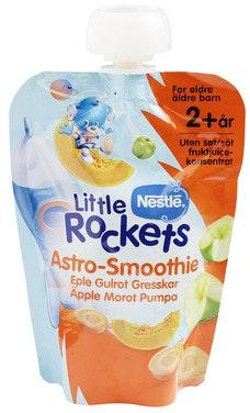 Little Rockets Smoothie Gresskar Fra 2 år, 150 g