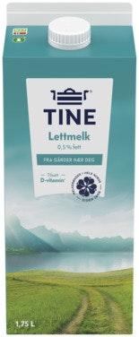 Tine TineMelk Lett 0,5%, 1,75 l