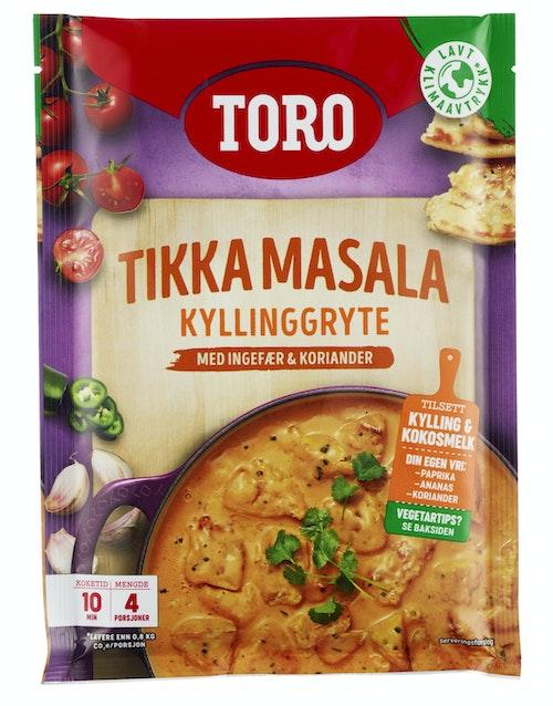 Toro Indisk Gryte Tikka Masala, 113 g