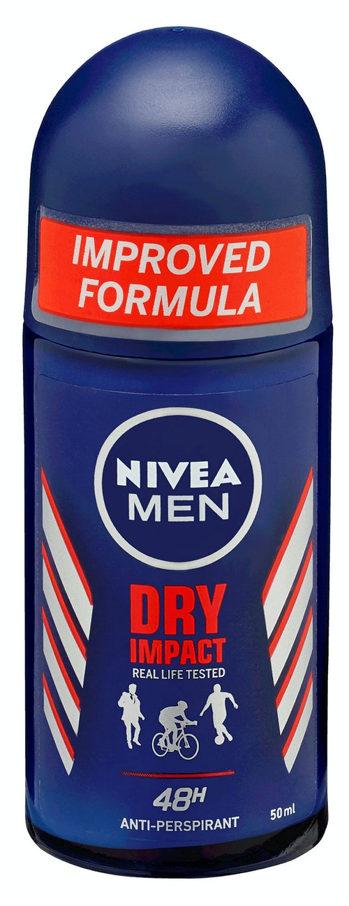 Nivea Dry Impact Deo Rollon, 50 ml