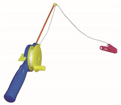 Amo Toys Krabbefiskestang med snelle, klype og snøre 1 stk