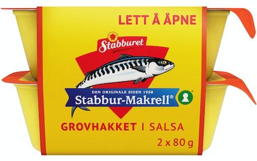Stabburet Stabbur-makrell Hakket Salsa 2 x 80g, 160 g