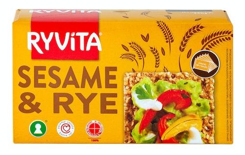 Ryvita Ryvita Sesam Knekkebrød, 250 g