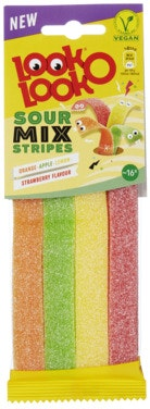 Look O Look Look O Look Sour Mix Stripes 90 g