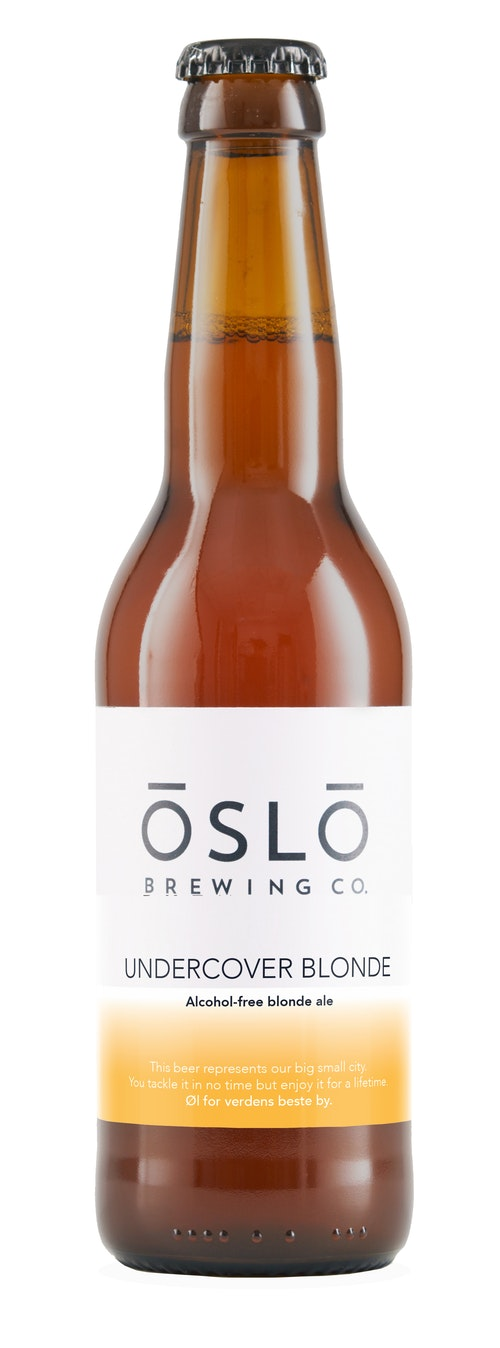 Oslo Brewing Company Undercover Blonde 0,33 l