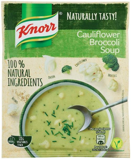 Knorr Blomkål- og Brokkolisuppe 52 g