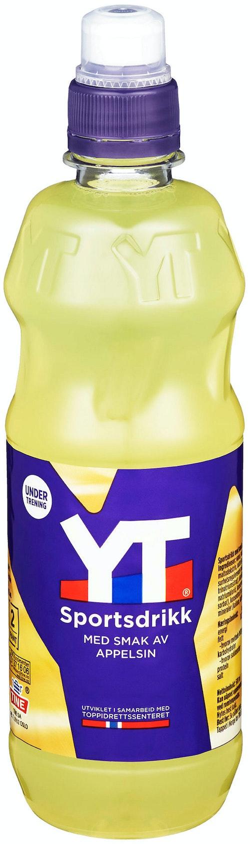 Tine YT Sportsdrikk Appelsin, 0,5 l