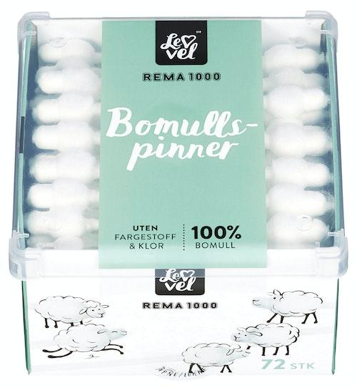 REMA 1000 Bomullspinner Baby 72 stk