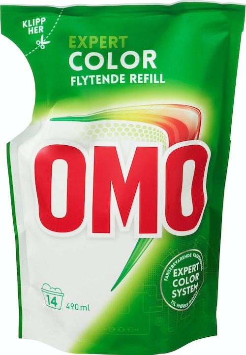 OMO Omo Color Flytende Refill, 490 ml