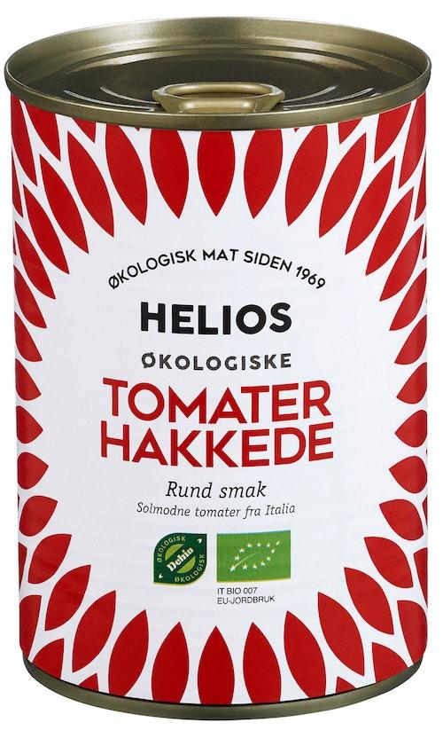 Helios Hakkede Tomater Økologisk, 400 g