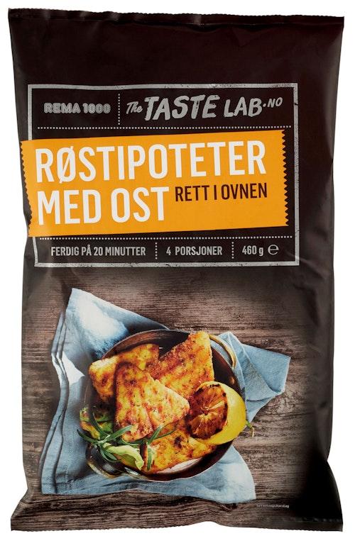 REMA 1000 Røstipoteter med Ost Taste Lab, 460 g