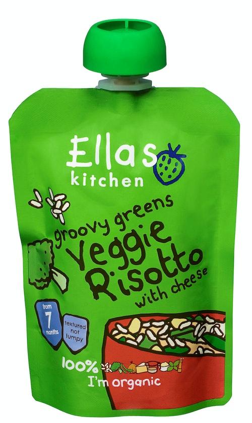 Ella's Kitchen Veggie Risotto Økologisk, Fra 7 mnd, 130 g