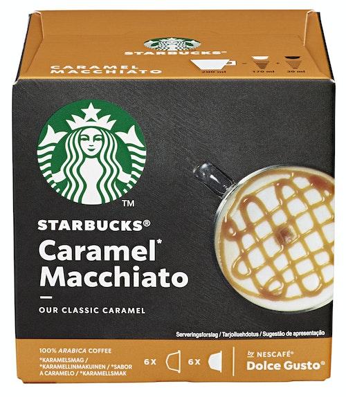Dolce Gusto Starbucks Caramel Macchiato 12 stk