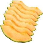 Cantaloupemelon i Skiver