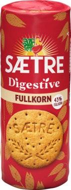 Sætre Digestive Fullkorn 400 g