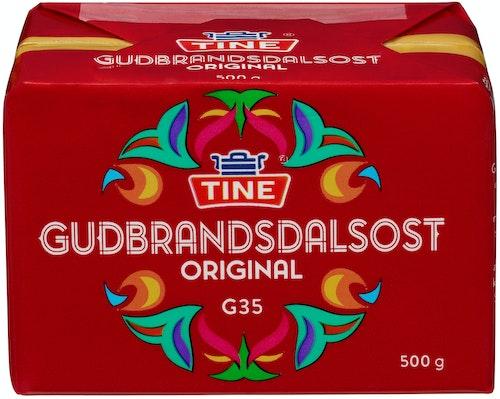 Tine Gudbrandsdalsost G35 500 g