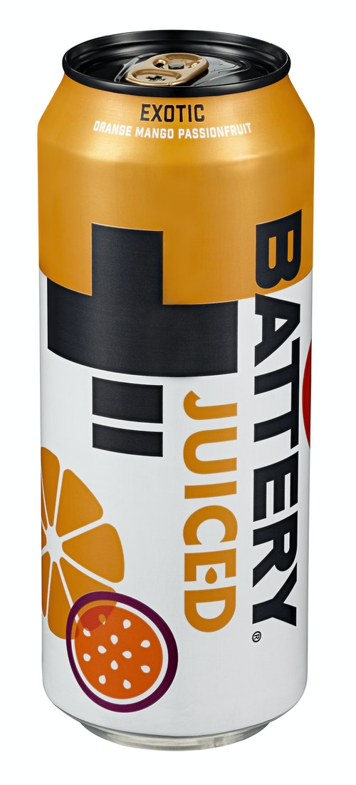 Battery Battery Juiced Exotic 0,5 l