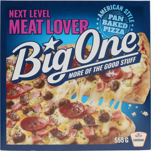 Big One Big One Meat Lover Pizza 555 g