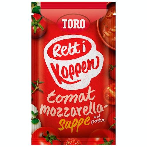 Toro Tomatsuppe med Mozzarella Rett i Koppen, 26 g