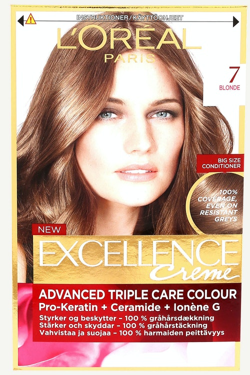 L'Oreal Excellence 7 Blond 1 stk