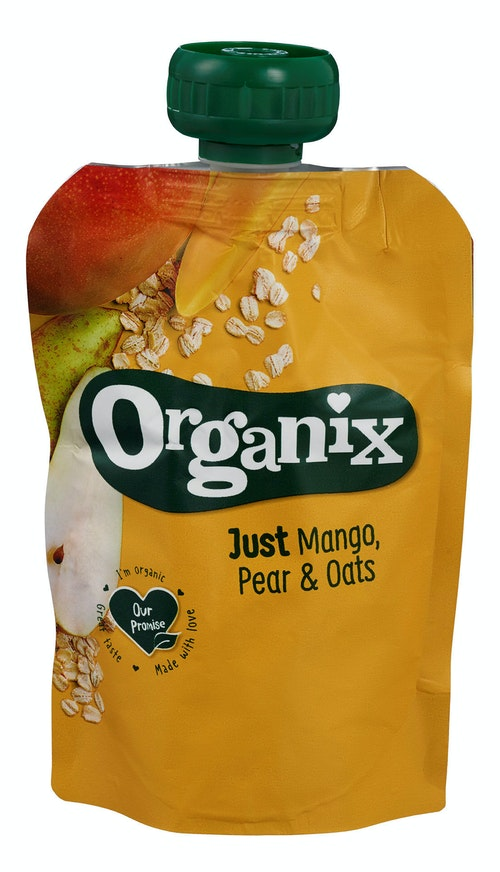 Semper Organix Mango, Pære & Granola Fra 6 mnd, 100 g