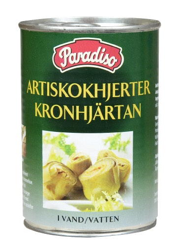 Paradiso Artisjokkhjerter 390 g