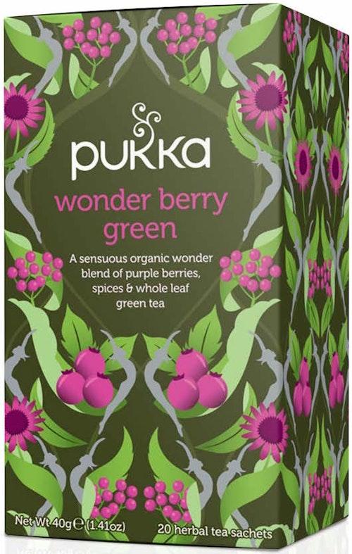 Pukka Wonder Berry Green 20 stk