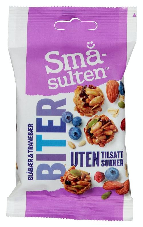 Polly Småulten Biter Blåbær & Tranebær 35 g