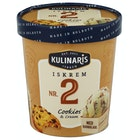 Cookies & Vanilje-Iskrem