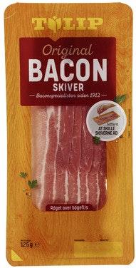 Tulip Bacon Skivet 125 g